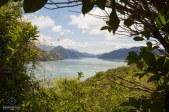 Paysage sur la route de Picton à Marahau