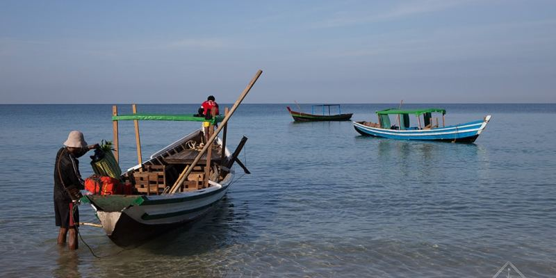 Pêcheurs Ngapali - Birmanie (Myanmar)