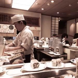 Sushi Bar et cuisinier - Kyoto