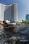 Bateau sur la Chao Praya - Bangkok