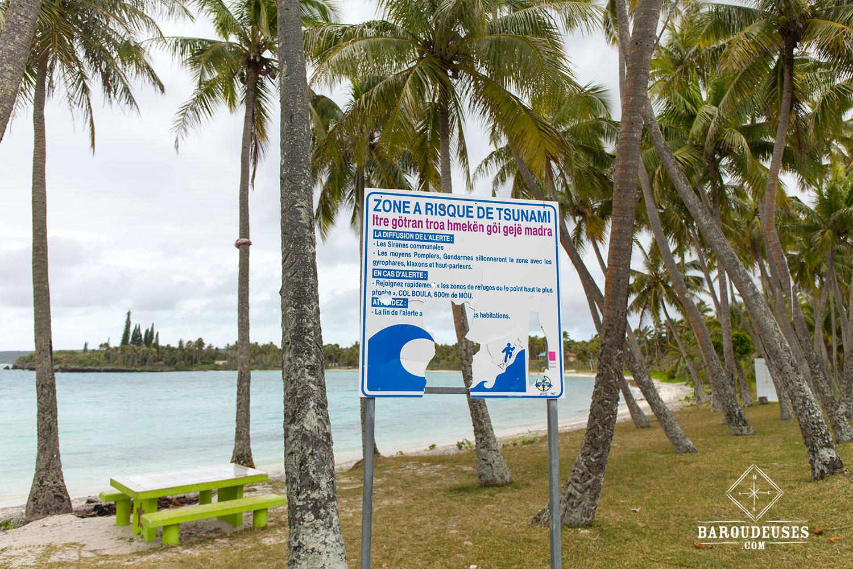 Lifou, alerte tsunamie