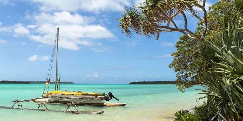 Ile des pins_pirogue - Nouvelle-Calédonie