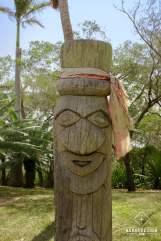 Centre Jean-Marie Tjibaou_Totem kanak - Nouméa
