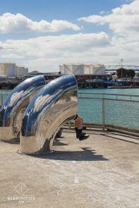 Wynyard Quarter - Auckland - mobilier urbain