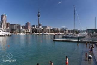Wynyard Quarter - Auckland - baignade