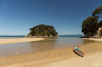 Kayak à Mosquito Bay - Abel Tasman National Park