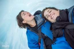 Deux baroudeuses sous les glaces - Glacier Franz Josef