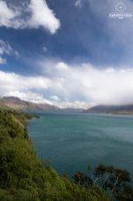 Paysage entre Franz Josef Glacier et Queenstown