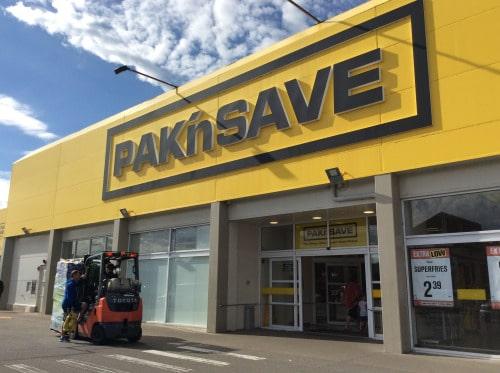Pack 'N Save - Nouvelle Zélande