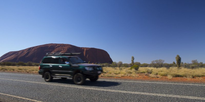 On the road - Outback