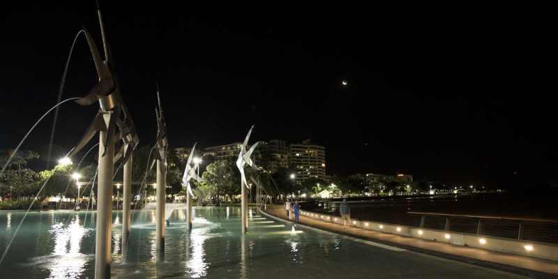 Cairns de nuit - vue du Lagoon