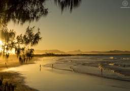 Plage - Sunset - Byron Bay - Australie