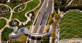 Passerelle BP par Frank Gehry - Millenium Park - Chicago