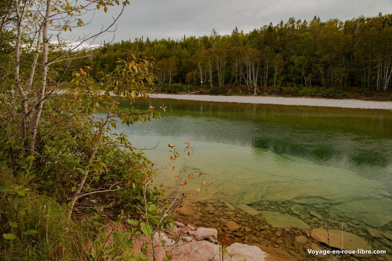 Rivière Bonaventure - Gaspésie - Québec