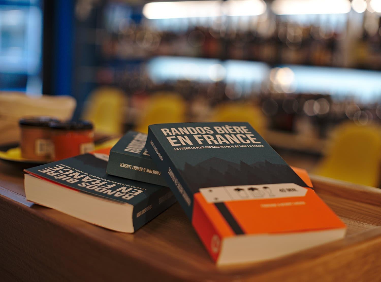 Le livre rando bière de Novo Monde
