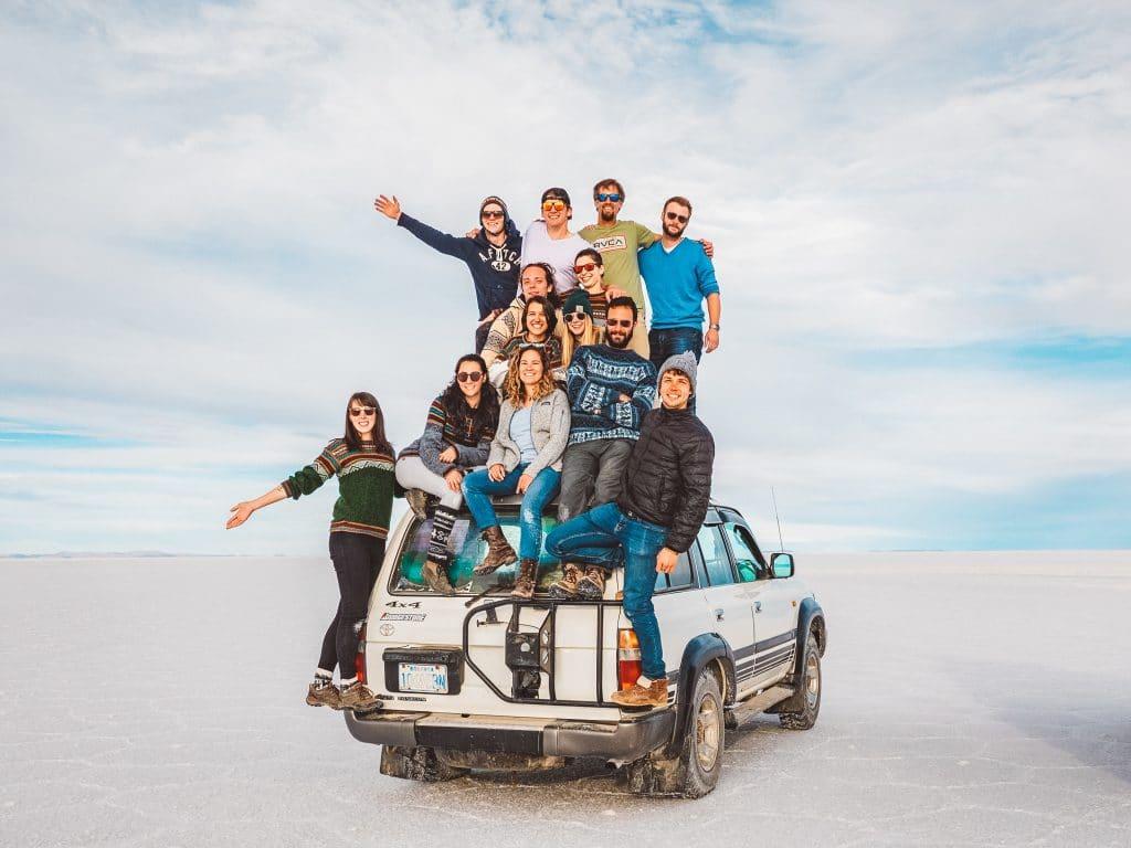 La communauté de Digital nomad Wifi Tribe en Bolivie