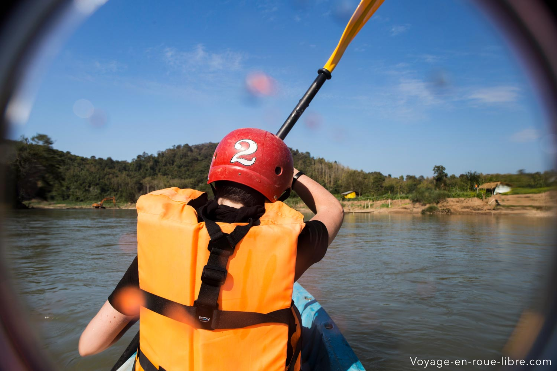 descente rivière Nam Ou - Laos