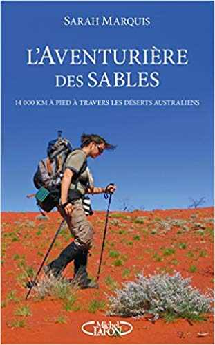 Livre - L'aventurière des sables - Sarah Marquis