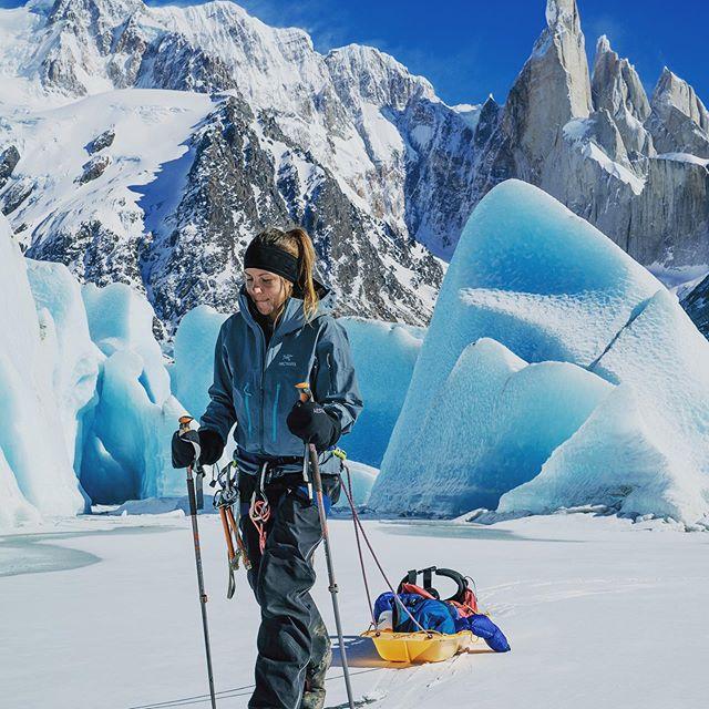 Une prochaine expédition en Patagonie pour Caroline Côté. Participation au projet Ice Legacy