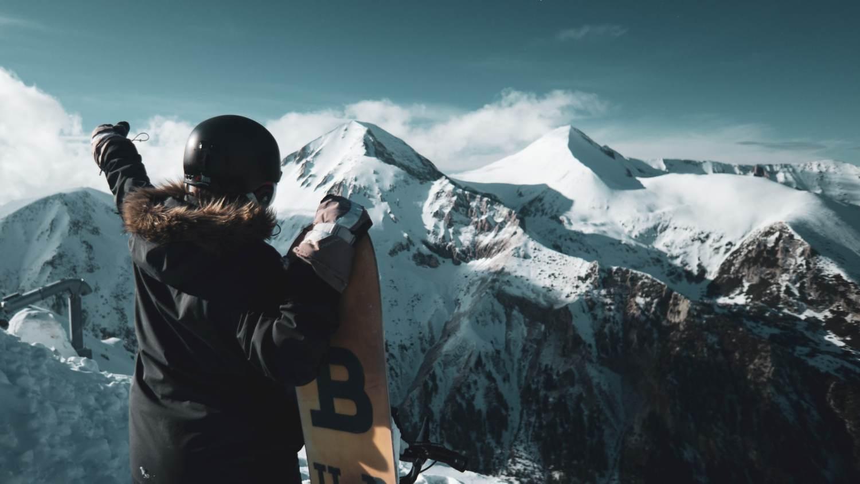 Passer son jeudi après-midi sur les pistes de ski quand on est digital nomad.