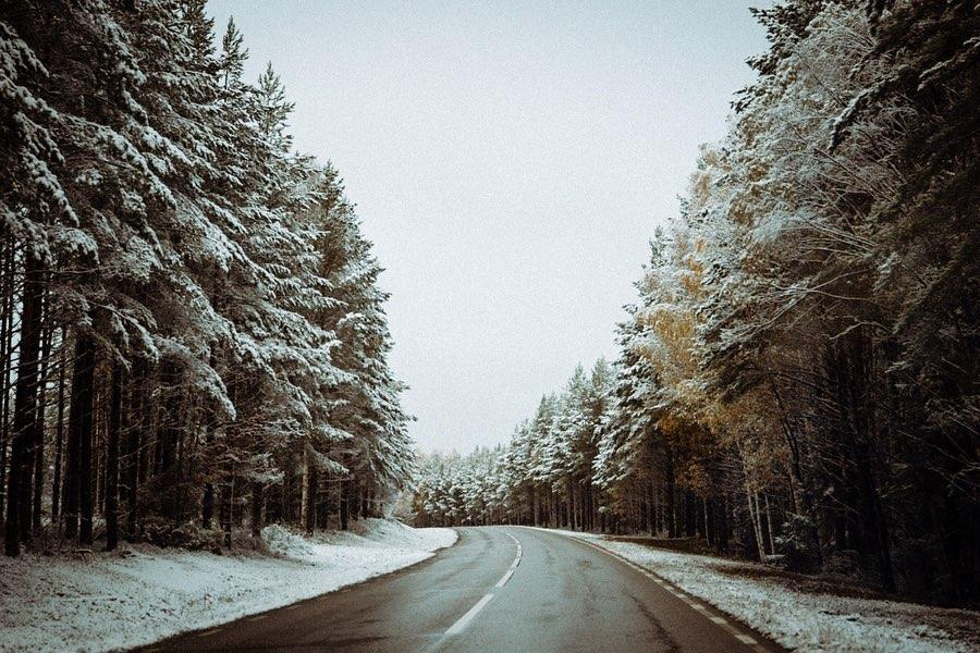 roadtrip en hiver - traverser le cercle polaire avec Clara Domas
