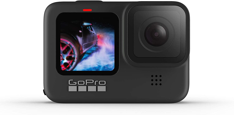 La Go Pro Hero 9 : une très bonne caméra d'action ou sous-marine : tu peux aussi t'en servir en mode selfie pour t'assurer que ton cadrage est toujours optimal.
