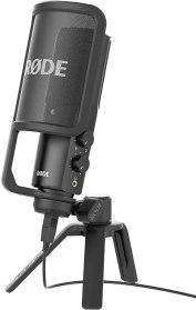 Le Røde NT-USB, un des micos pour podcast et voix off les plus performants, facile d'utilisation et accessibles du moment.