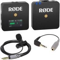Le Micro Wireless Go avec le Kit SmartLav+ de Røde : Un kit qui prend très peu de place et qui est très fiable pour les vidéos.