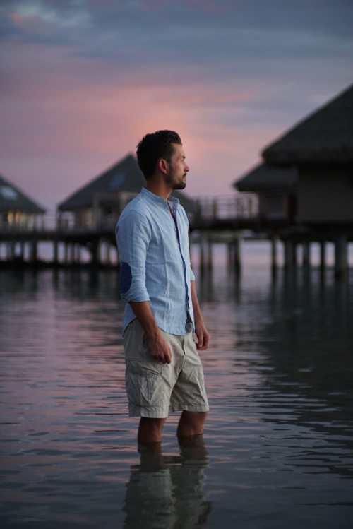Alex Vizeo pendant sa retraite à Bali au début de sa reconversion en coach pour entrepreneurs.