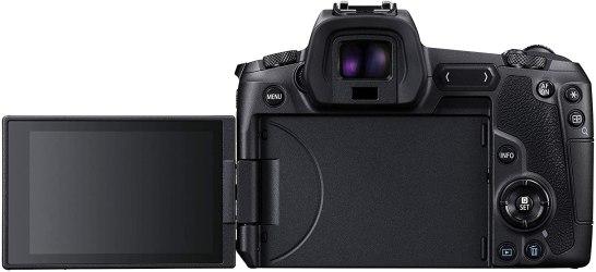Canon EOS R - back