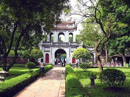 Van Mieu - Entrée du temple- Hanoi