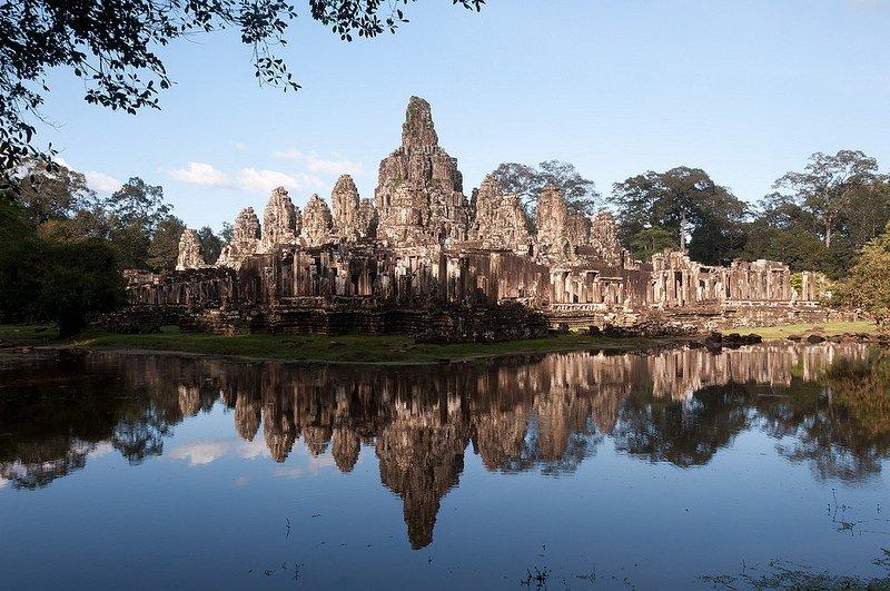 Temple de Bayon - Angkor Thom par Mark Fisher