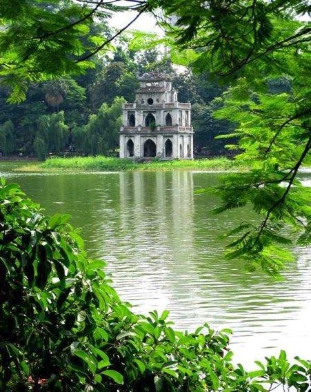 Lac Hoan Kiem par Michael Foley
