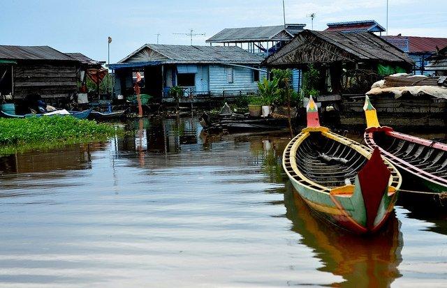 Village de Kompong Luong par Adrien DUBUISSON