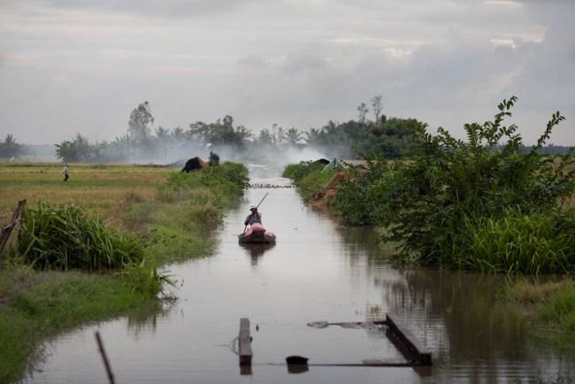 Delta du Mekong par andré thiel