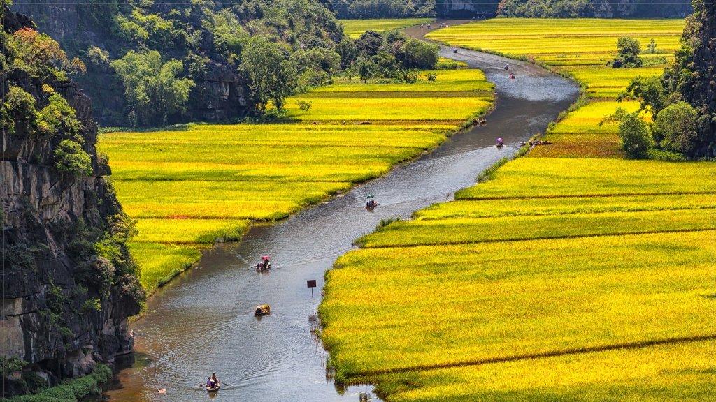 Tam Cốc - Ninh Bình, Vietnam