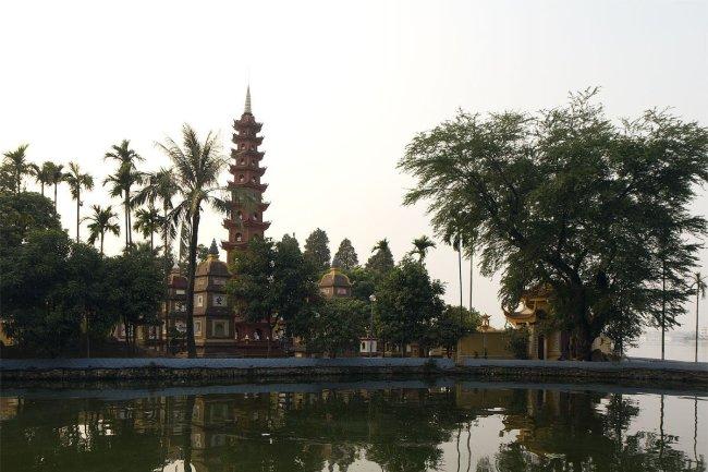 Tran Quoc pagode par Stefan Fussan