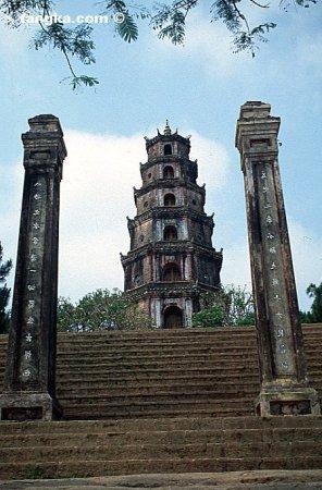 Pagode Thien Mu- Hué, Vietnam