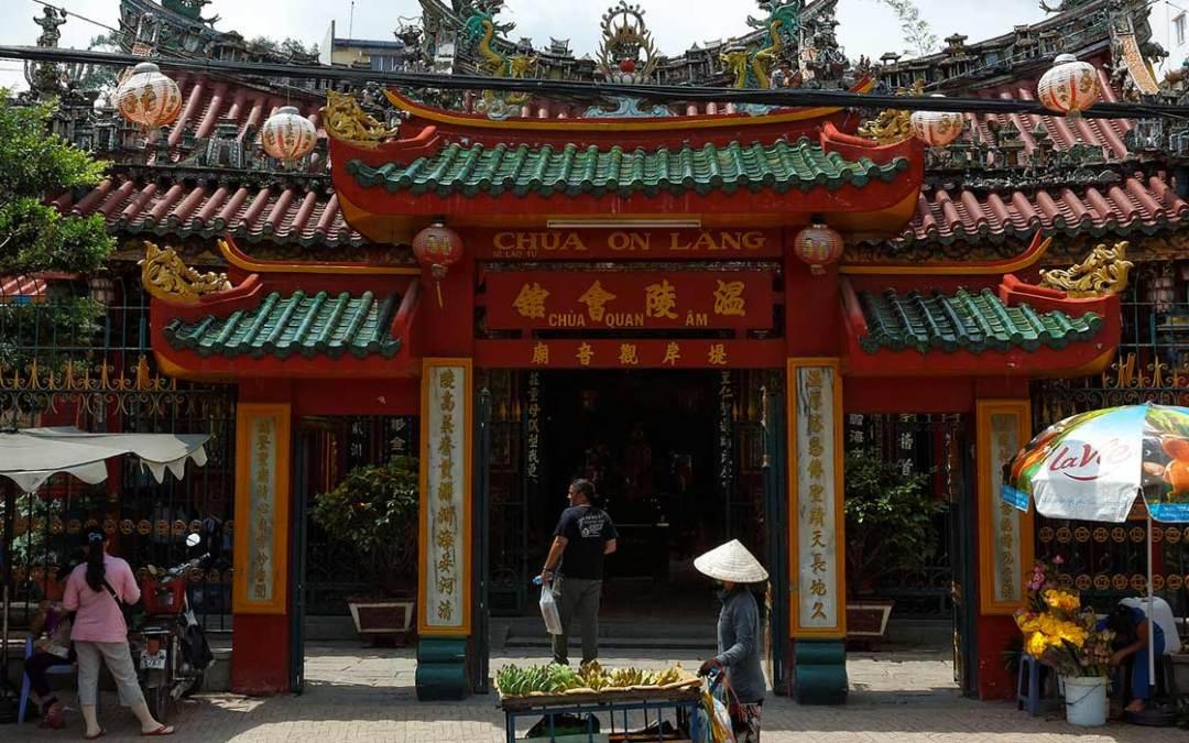 Ouverture de la fête Nguyên tiêu des Hoa à Hô Chi Minh-Ville