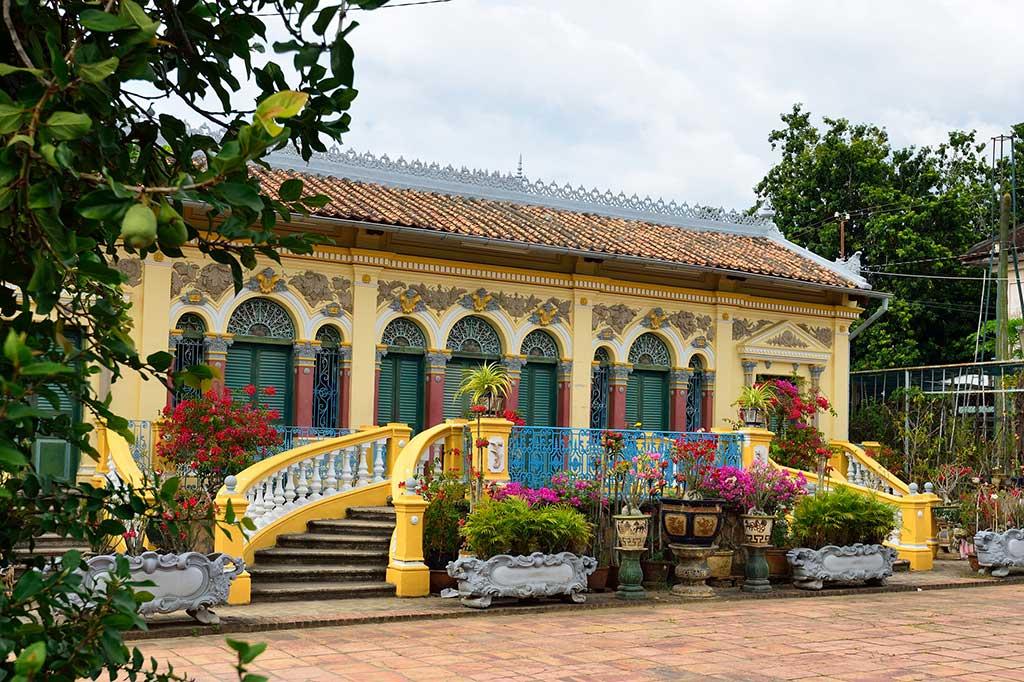 L'ancienne maison Binh Thuy à Can Tho - Vietnam