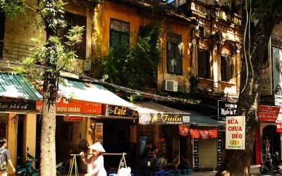 Visiter le vieux quartier de Hanoi