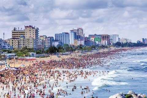 Sâm Son, plage - Vietnam