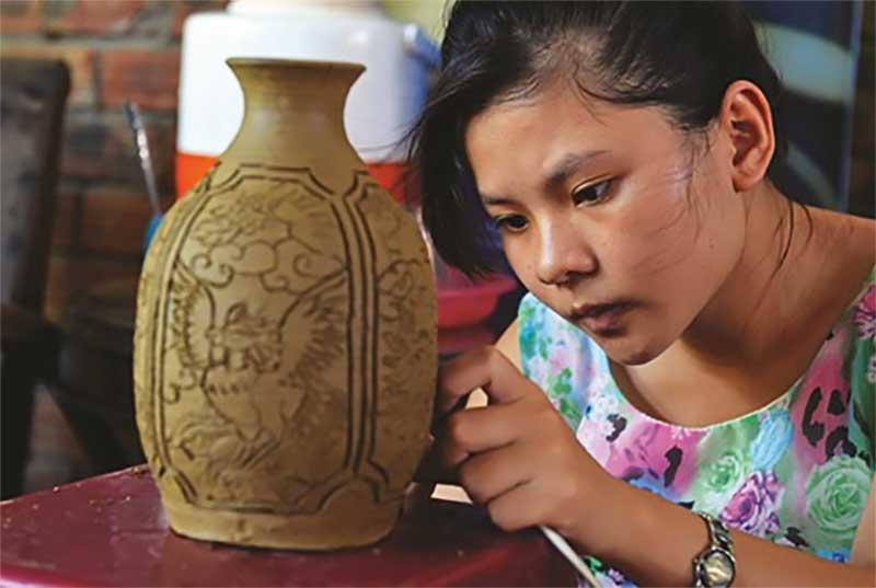 Artisane, poterie - Thanh Ha, Quang Nam, Vietnam