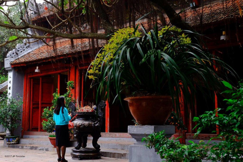 Temple Ngọc Sơn, Hanoi, Vietnam