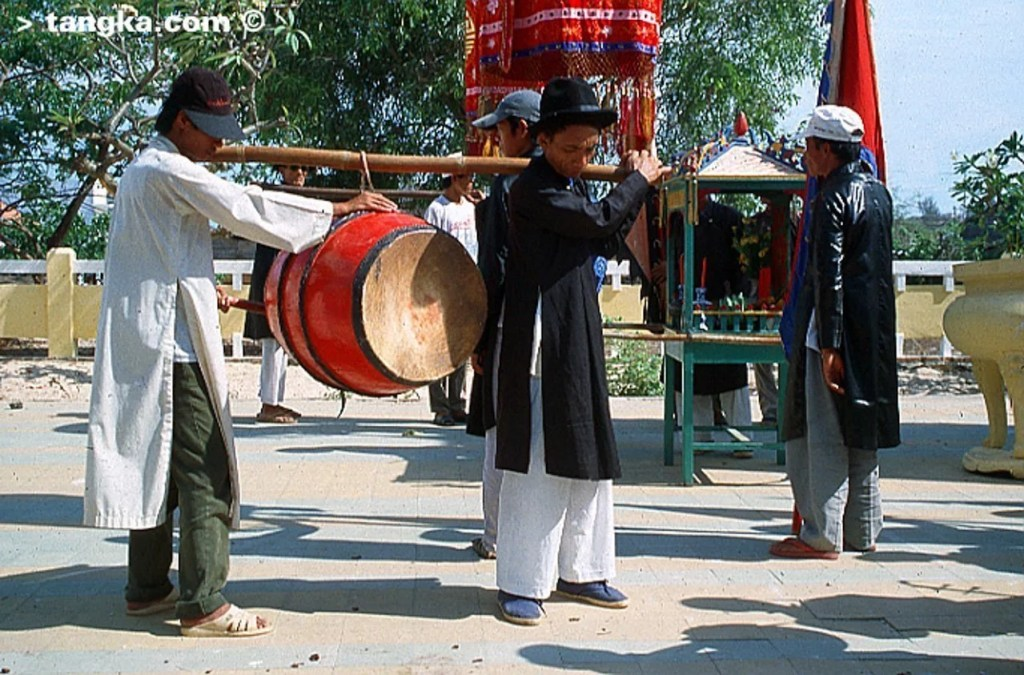 Tambour pour la procession