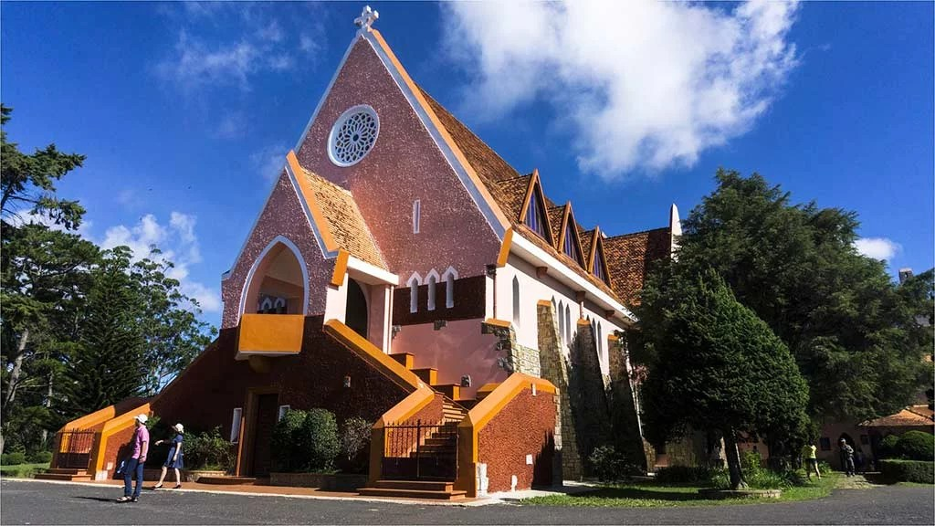 Église de Mai Anh, Dalat, Vietnam