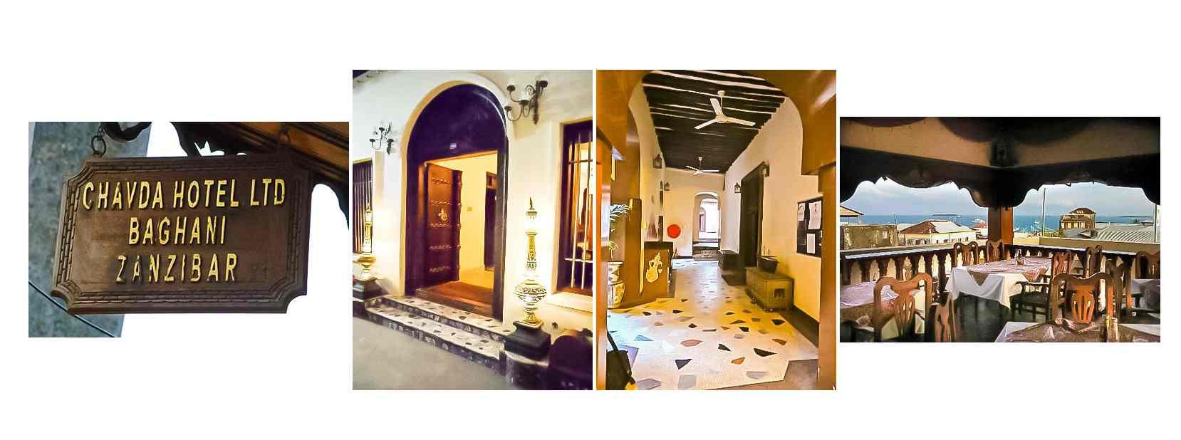Chavda Hôtels Stone Town Zanzibar