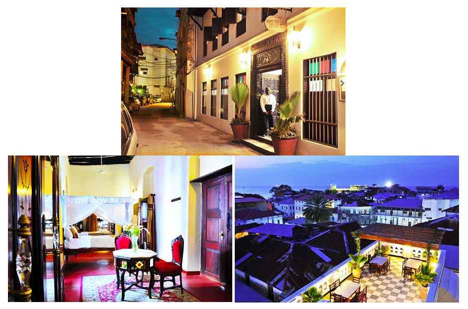 Dow Palace Hôtels Stone Town Zanzibar