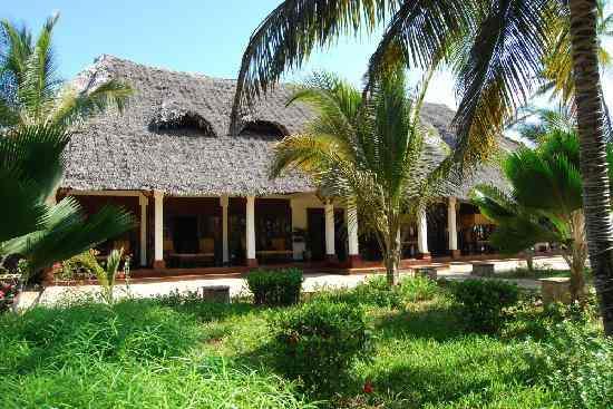 Hôtels côte ESt et Hôtels côte Nord de Zanzibar