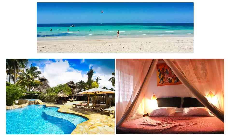 Paje by night Hôtels côte ESt et Hôtels côte Nord de Zanzibar